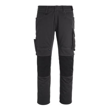 Bundhose Unique, anthrazit/schwarz, Gr. 46